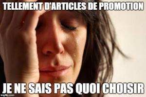1st world problem promotionnelle