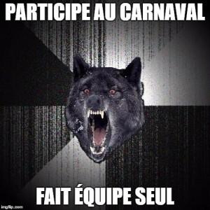 wolf carnaval
