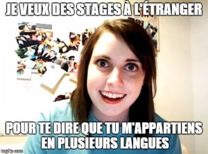 overly attached stage